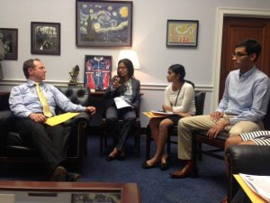 SAPAC meets with Congressman Adam Schiff (D CA)