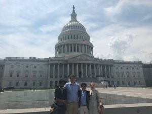 Above: the SAPAC  team concludes  the Sindhi American Youth Advocacy and Leadership Program by taking a tour of theU.S.  Capitol